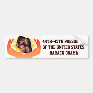 44th-45th-President,Barack Obama_ Bumper Sticker