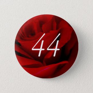 44th Birthday 2 Inch Round Button