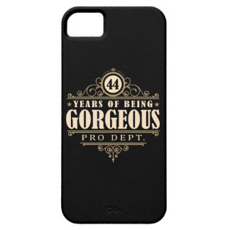 44th Birthday (44 Years Of Being Gorgeous) iPhone 5 Cases