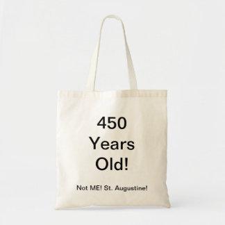 450 years old tote bag