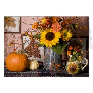 4549 autumn Still Life Birthday Card