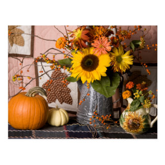4549 Autumn Still Life Postcard