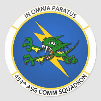 454th Comm Sticker