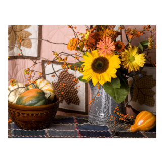 4553 Autumn Still Life Postcard