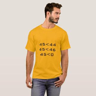 45<0 T-Shirt