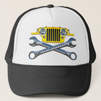 45-49 Yellow Flatfender Hat