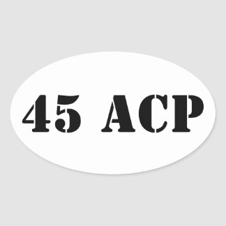 45 ACP ammo can sticker