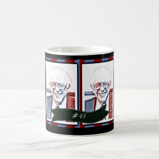 #45 Bernie Sanders Patriotic Political Support Mug