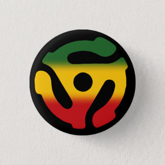 45 Insert Pin: Reggae Version 1 Inch Round Button