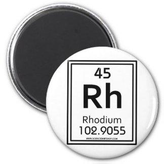 45 Rhodium Magnet