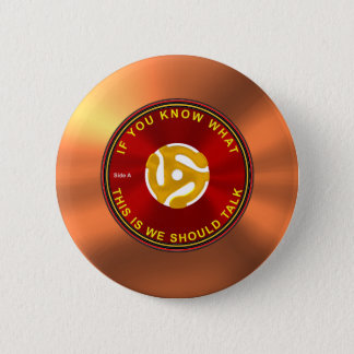 45 rpm Ice Breaker 2 Inch Round Button