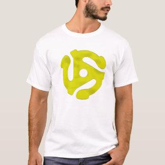 45 Rpm Yellow Chrome T-Shirt