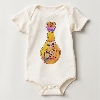 #45 Toxic Fluid Bottle Baby Bodysuit