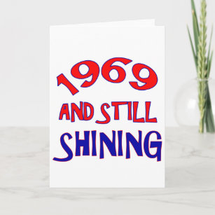 45 Years Old Birthday Designs Card
