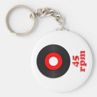45rpm Keychain