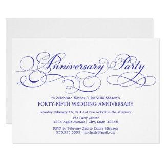 45th Anniversary | White/Blue Card
