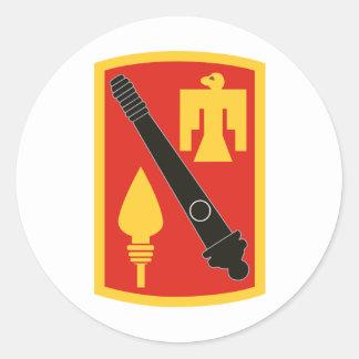 45th Field Artillery Brigade Round Sticker