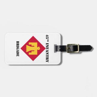 45th Infantry Brigade W/Text Luggage Tag