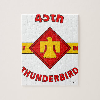 """45TH INFANTRY DIVISION """"THUNDEBIRD"""" JIGSAW PUZZLE"""