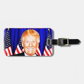 45th President-Donald Trump _ Bag Tag