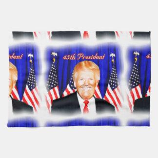 45th President-Donald Trump _ Hand Towels