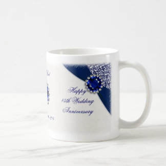 45th Wedding Anniversary Mug
