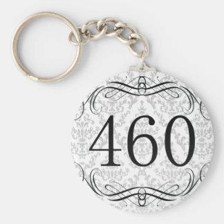 460 Area Code Keychain