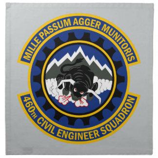 460th Civil Engineer Squadron Cloth Napkin