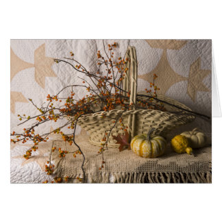 4641 Autumn Still Life Birthday Card