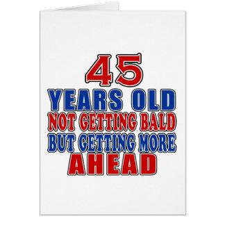 46 Ahead Birthday Designs Greeting Card