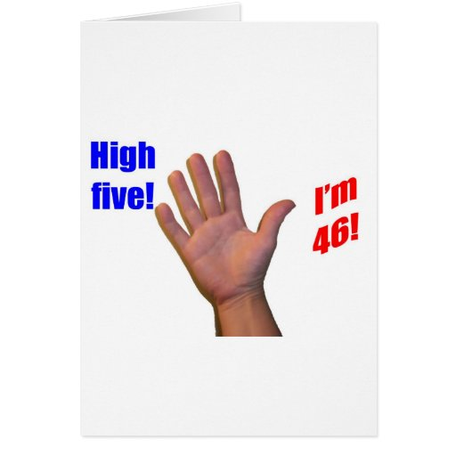 46 High Five! Cards