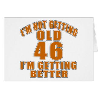 46 I Am Getting Better Card