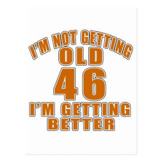 46 I Am Getting Better Postcard