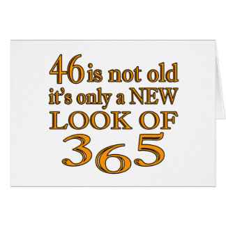46 New Look Of 365 Greeting Card