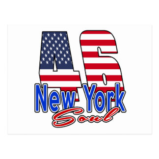 46 New York Soul Birthday Designs Postcard