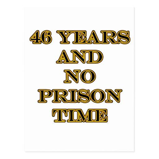 46 No prison time Postcards