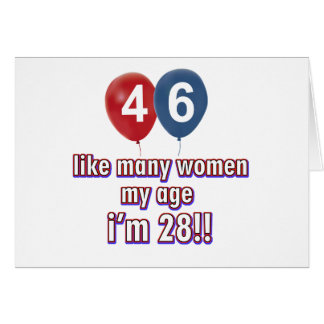 46 year old women designs greeting card