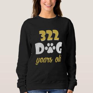 46th Birthday Costume For Dog Lover. Sweatshirt