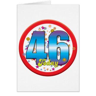 46th Birthday Today v2 Card