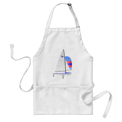 470  Racing Sailboat onedesign Olympic Class Apron