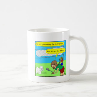 474 bad mitten Cartoon Coffee Mug