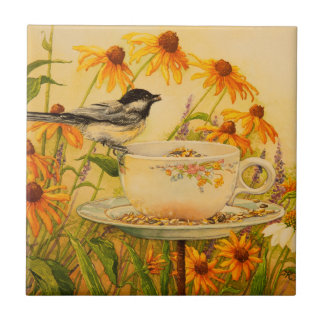 4773 Chickadee on Teacup Tile