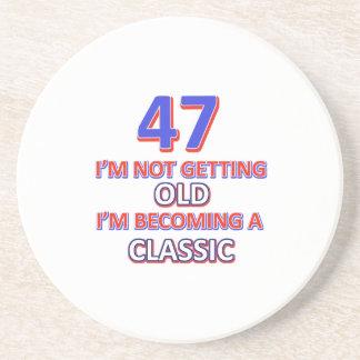 47 birthday designs coaster