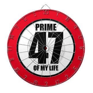 47 - prime of my life dartboard