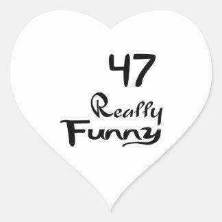 47 Really Funny Birthday Designs Heart Sticker