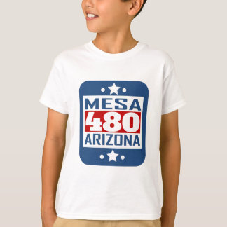 480 Mesa AZ Area Code T-Shirt