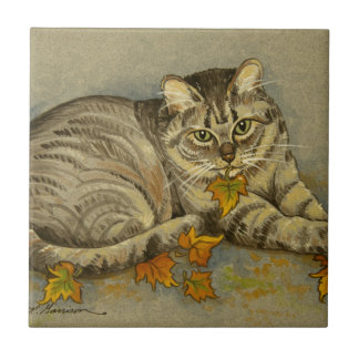 4872 Autumn Cat Tile