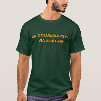 48  COLUMBIA CITY -- VIA 23RD AVE T-Shirt