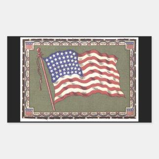 48-Star Flag Sticker