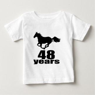 48 Years Birthday Designs Baby T-Shirt
